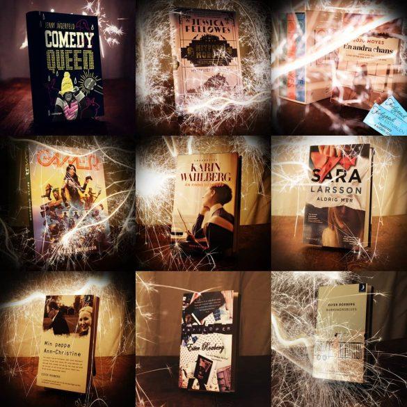 Lite bilder från dagens bokbyte
