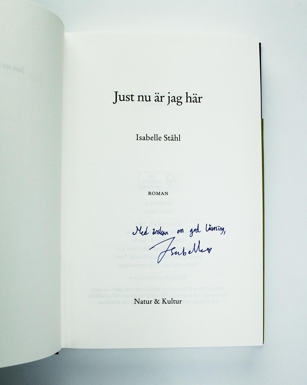 isabelle-ståhl-signering
